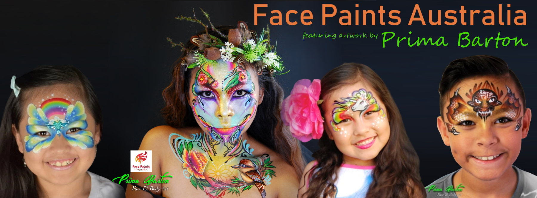 face paints australia prima barton