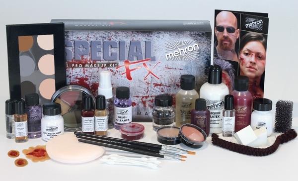 complete mehron SFX makeup kit