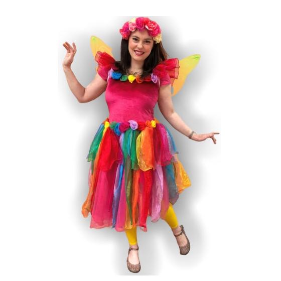 Fairy Hannah in costume