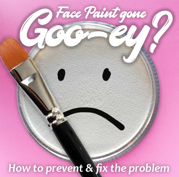 image: How to Fix Gooey Face Paint