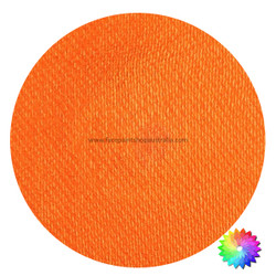 royal orange shimmer face paint