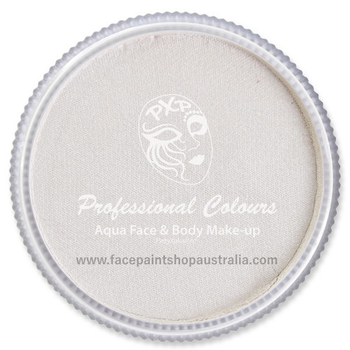 party xplosion  face paint pearl white