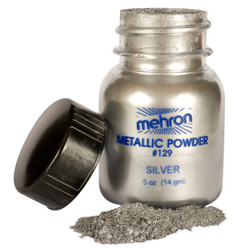 Mehron Metallic Powder SILVER 14g