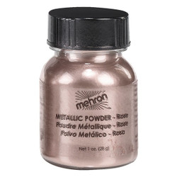 Mehron Metallic Powder 14g ROSE