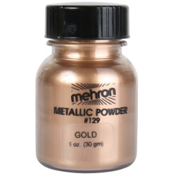 Mehron Metallic Powder GOLD 28g