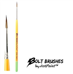 BOLT FIRM Liner #2 Face Painting Brush by Jest Paint