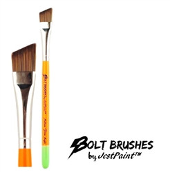 "BOLT ANGLE medium 5/8"" (FIRM) Face Painting Brush by Jest Paint"
