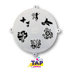 FAIRYLAND - Galaxy TAP Face Painting Stencil