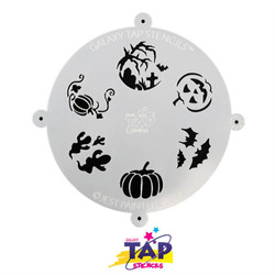 HALLOWEEN - Galaxy TAP Face Painting Stencil