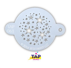 MAGICAL STARS TAP 061 Face Painting Stencil