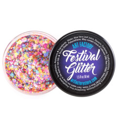 'RAVE' Festival Glitter by the Art Factory