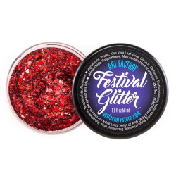 'CHERRY BOMB' Festival Glitter by the Art Factory
