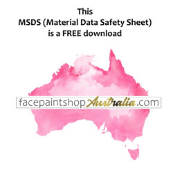 Pixie Paint Glitter Material Safety Data Sheet MSDS