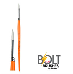 BOLT CRISP Round #4 Face Painting Brush by Jest Paint