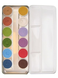 'Fairy Tales' 12 Colour Face Paint Palette x 5g each by SUPERSTAR