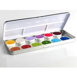 'Fairy Tales' 12 Colour Face Paint Palette x 5g each by SUPERSTAR
