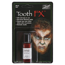BLOOD RED TOOTH FX by Mehron
