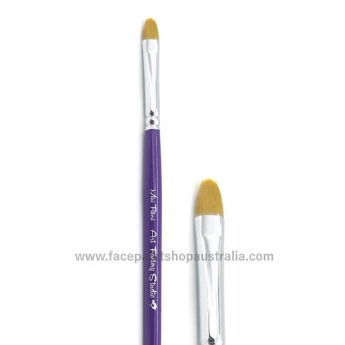 face paint mini filbert brush art factory