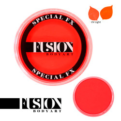 FX UV NEON ORANGE by Fusion Body Art face paint 32g