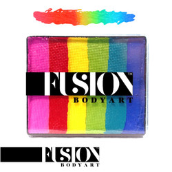 BRIGHT RAINBOW by Fusion Body Art face paint 50g