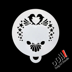body art face paint stencil airbrush