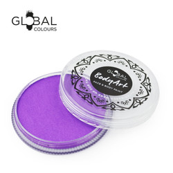 NEON UV PURPLE Face and Body Paint Makeup by Global Colours 32g *New Formula*