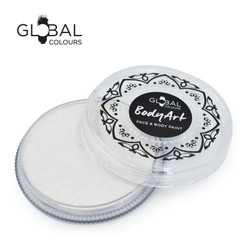 PEARL WHITE Face and Body Paint Makeup by Global Colours 32g *New Formula*