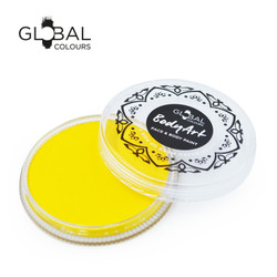 YELLOW LIGHT Face and Body Paint Makeup by Global Colours 32g *New Formula*