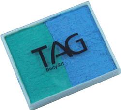 TAG pearl 50g split teal - sky blue