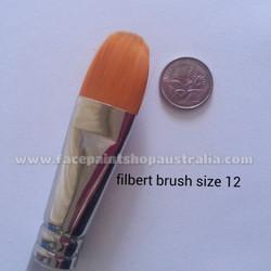 TAG Bodyart filbert brush size 12 face paint brush