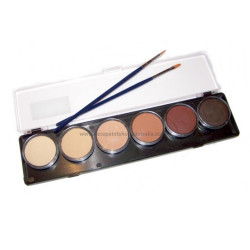 tag face body paint palette skin tone