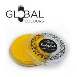 YELLOW Face and Body Paint Makeup by Global Colours 32g *New Formula*