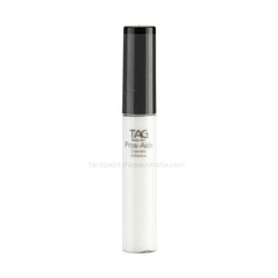 cosmetic adhesive body glue for glitter tattoos,prosthetics and gems 10ml refillable applicator. Does NOT contain latex