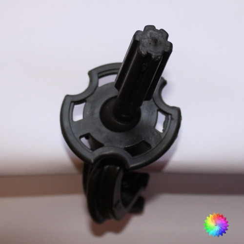Desk Clamp for face painter's practice head