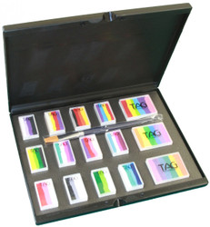 SPLIT CAKE + ONE STROKE Palette Set plus case - Tag Body Art Australia