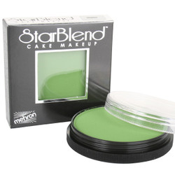 GREEN Starblend Powder by Mehron Cake Makeup 56g