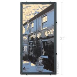 Wharf Rat Bar Silk Screen Art
