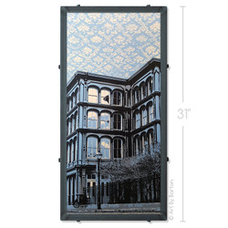 1840's Ballroom Wallpaper Silk Screen Print