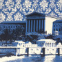 Philly Art Museum and Waterworks Detail Graphic