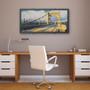 Roberto Clemente Bridge Art By Barton Silk Screen Print