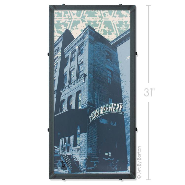 Penn Brewery Silk Screen Artwork