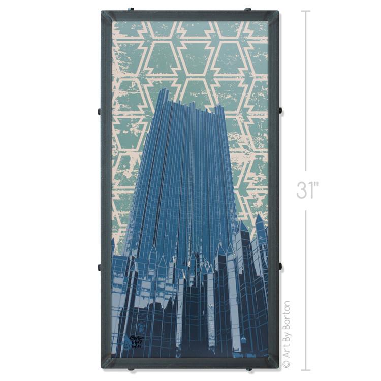 Pittsburgh Plate and Glass Company Silk Screen Artwork