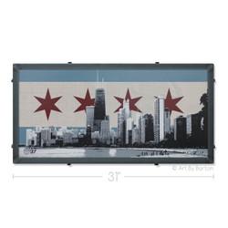 Chicago Silk Screen Artwork