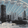Chicago Skyline view from Navy Pier Detail