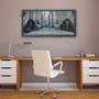 LaSalle Drive Bridge Silk Screen Print by Charlie Barton
