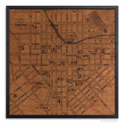 Lancaster City Map