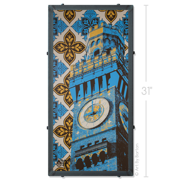 Bromo Seltzer Tower With Pattern
