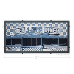 Bel Loc Diner Towson Maryland Silk Screen Print