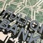 Fulton Bank Silk Screen Print Detail