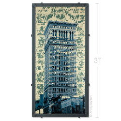 Arrot Building, Pittsburgh, PA Artwork by Charlie Barton